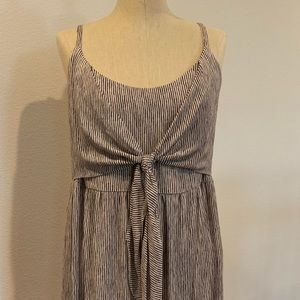 Forever 21 Dresses - BNWT Striped Tie-Front Mini Dress